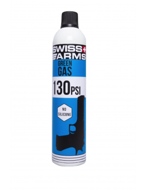 Green Gas 760ml - 130 PSI Seco [Swiss Arms]