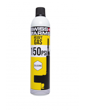 Heavy Gas 760ml - 150 PSI Lubrificado [Swiss Arms]